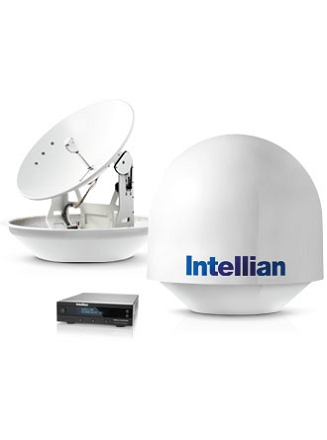 ANTENNE TV SAT. INTELLIAN 85CM - 4 SORTIES