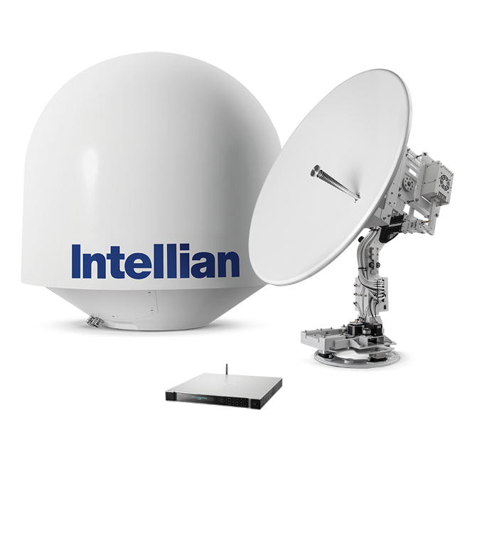 the antenna VSAT IV130G