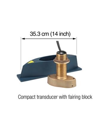 Sonde compacte avec carénage et capteur de mouvementent fournie en standard.