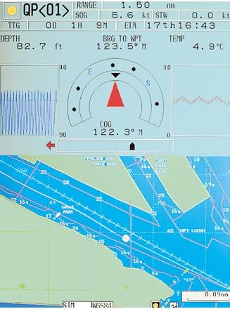 GP3500 - Mode Compas