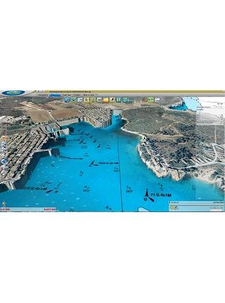 MaxSea TimeZero Navigator 3D PhotoFusion Raster Balearic Islands