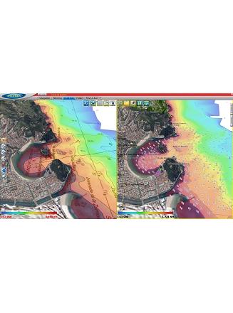 MaxSea TimeZero Navigator Raster vs Vector Chart display 3D photo HD