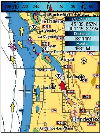 Page cartographique