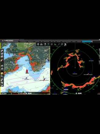 TZ Professional v3 Nav & Radar Workspace