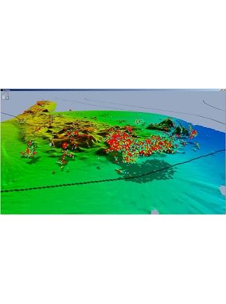 Détection banc en 3D