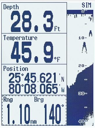 Info de navigation
